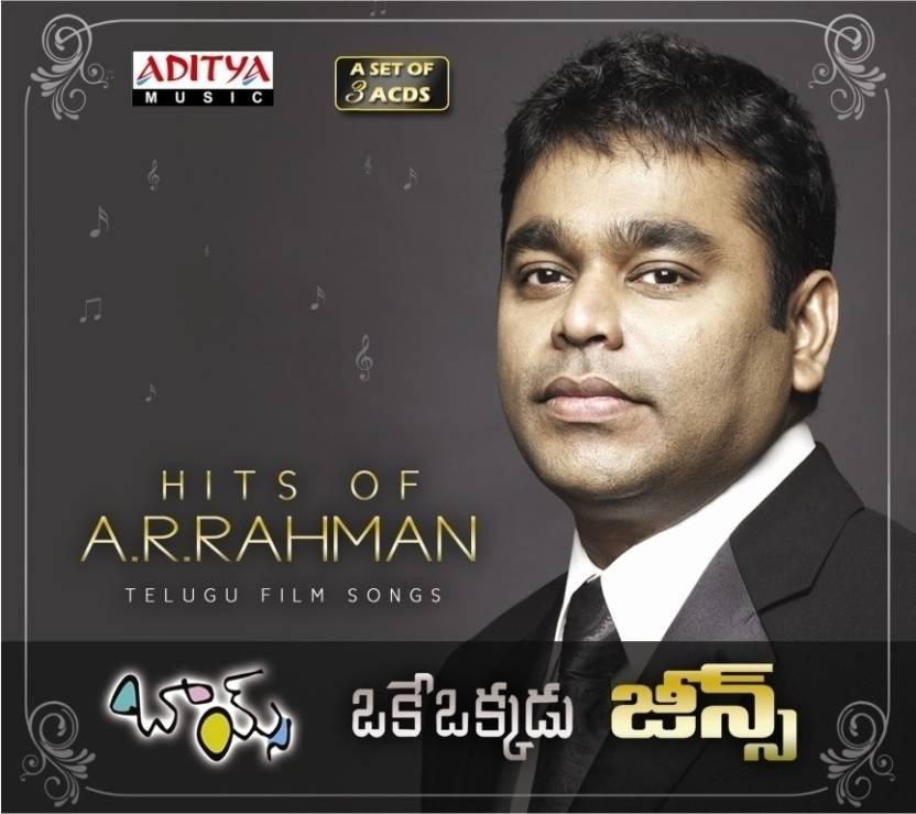 Hits Of A  R  Rahman (A Set Of 3 ACDs) Music Audio CD