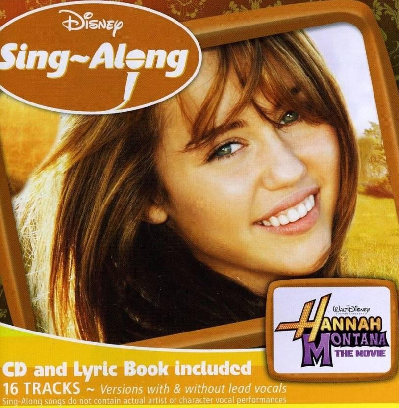 Disney Singalong Hannah Montana The Movie Music Audio Cd Price In