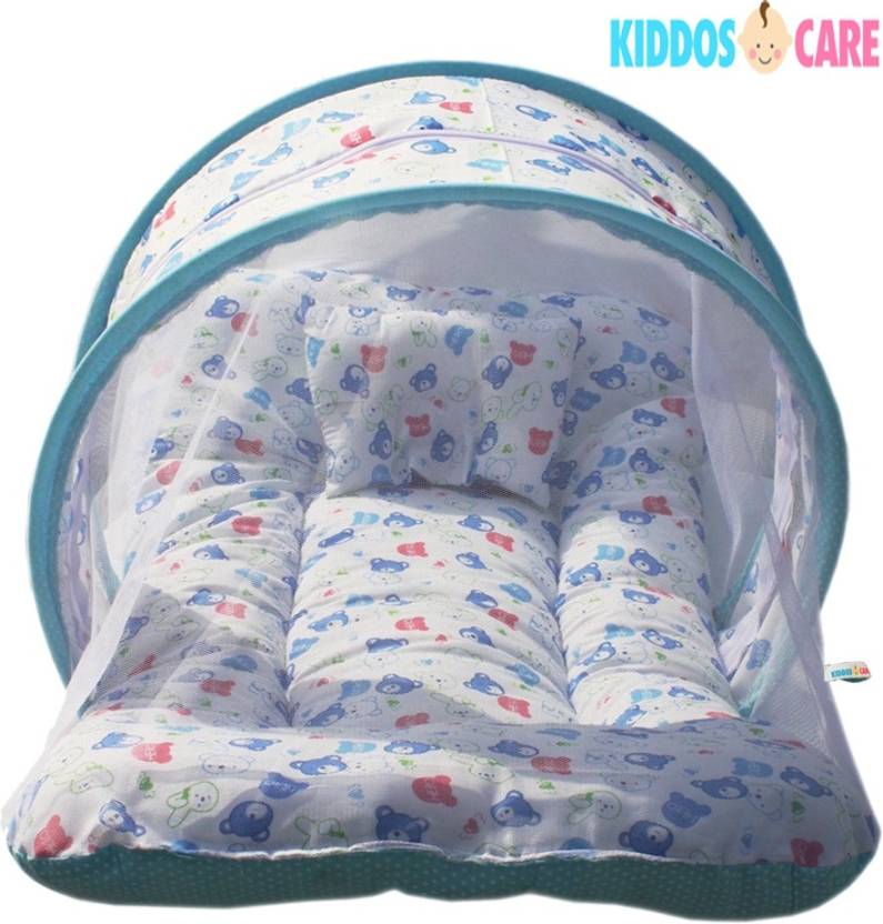 kiddoscare toddler mattress with mosquito net baby bed na price in