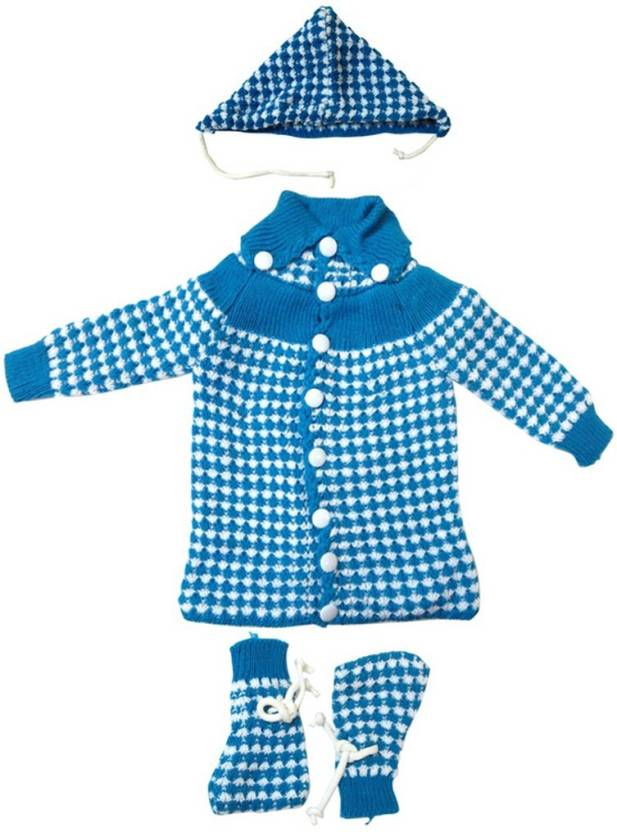 Dcs Baby Sweaterscap And Socks 0 6 Monthsblue Buy Baby Care