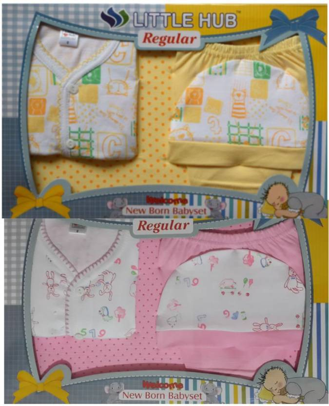 fb9c035ee Little Hub New Born Baby Clothes Gift Set Pack -