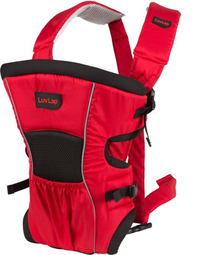 LuvLap Baby Carrier Blossom Baby Carrier  (Red)