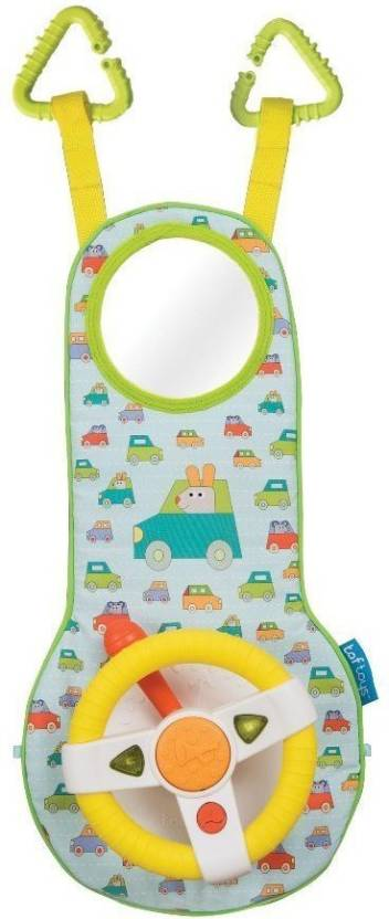 Taf Toys Infant And Baby Car Wheel Toy Seat To Entertain Stimulate For