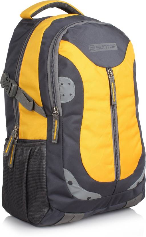 Get best deal for Suntop Neo 9 26 L Medium Laptop Backpack(Yellow) at Compare Hatke