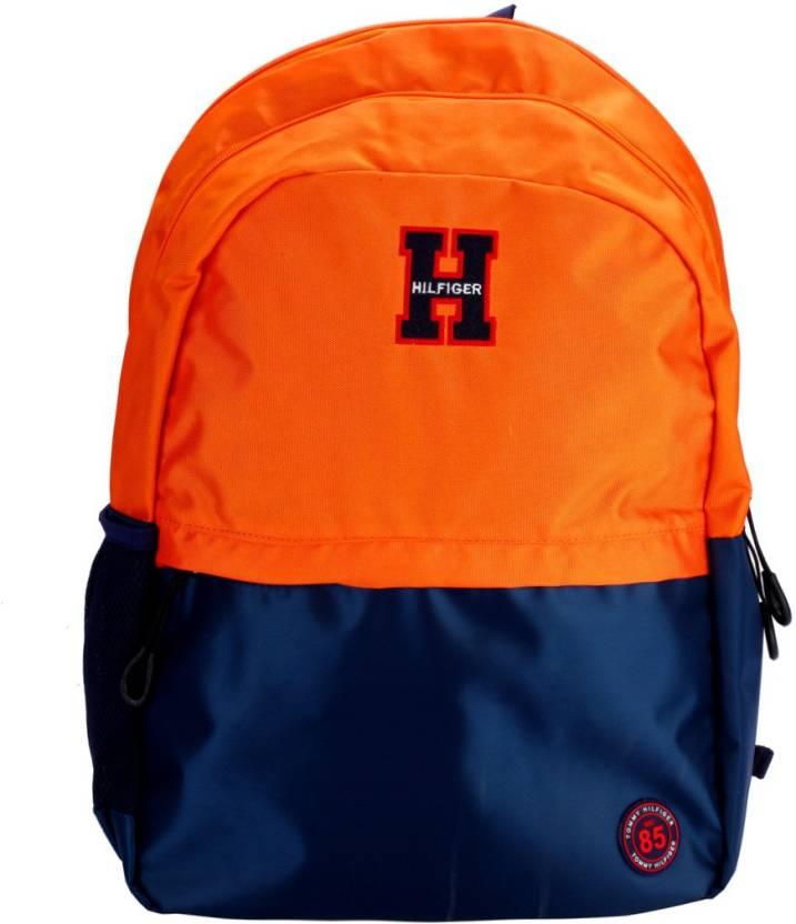 ab0c868af464 Tommy Hilfiger Companion Large 25.024 L Backpack Orange - Price in ...
