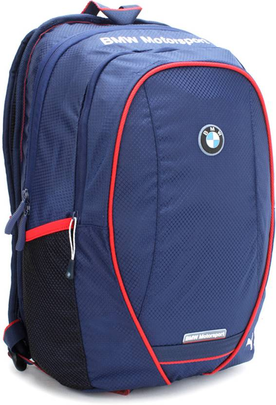 puma bmw motorsport backpack medieval blue price in. Black Bedroom Furniture Sets. Home Design Ideas