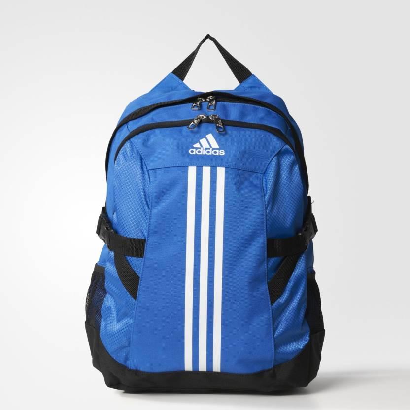 51da61bc27 ADIDAS Bp Power Ii Backpack Blue White Black - Price in India ...