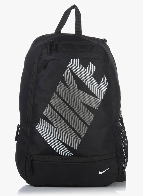 mejor autentico mejor precio para comprar Nike Classic Line 23 L Backpack Black - Price in India | Flipkart.com