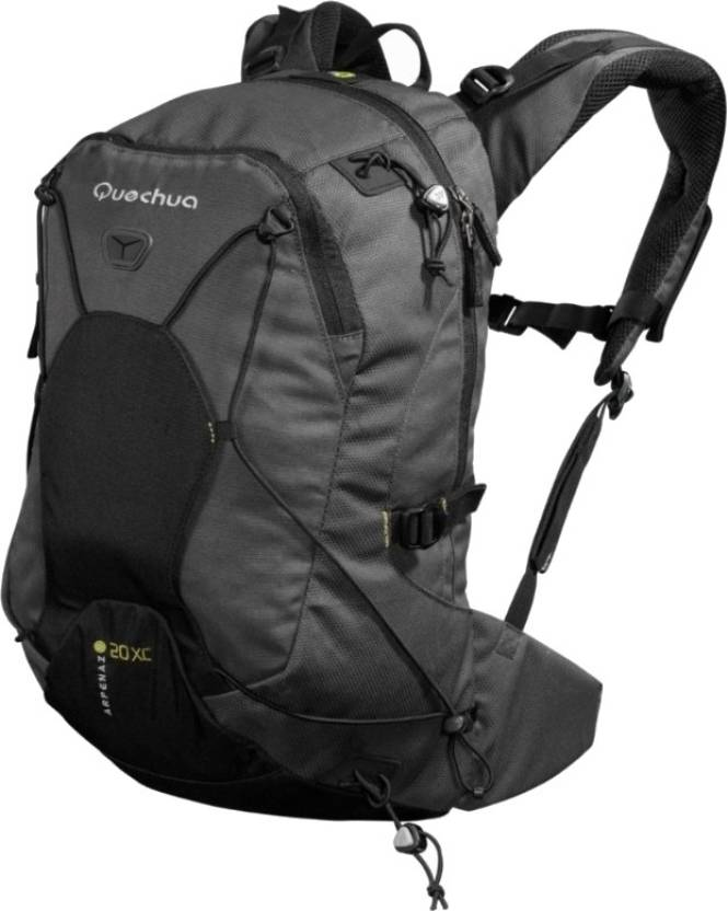 c97496566b15 Quechua by Decathlon Arpenaz 20 XC 20 L Backpack Grey - Price in ...