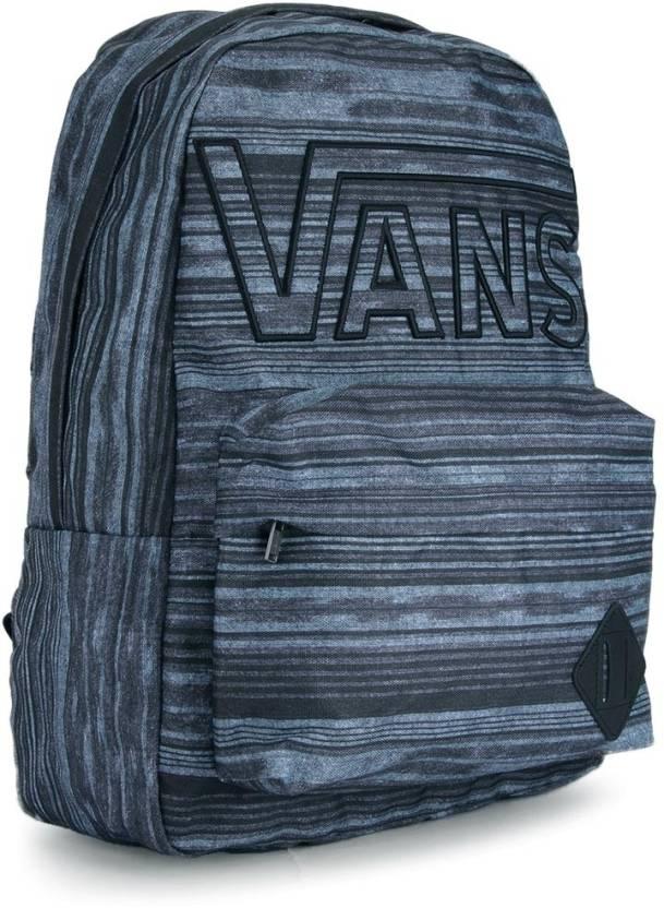 Vans M Old Skool II Backpack Black and Grey - Price in India ... fc5a13a92