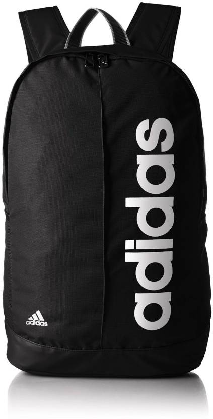 Aceptado calentar Identificar  ADIDAS Lin Per Bp 18 L Backpack Black and White - Price in India ...