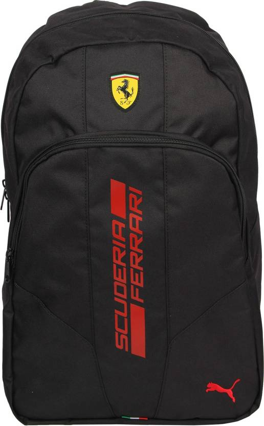 20ce647056cb Puma Ferrari Fanwear 2.5 L Backpack Black - Price in India ...