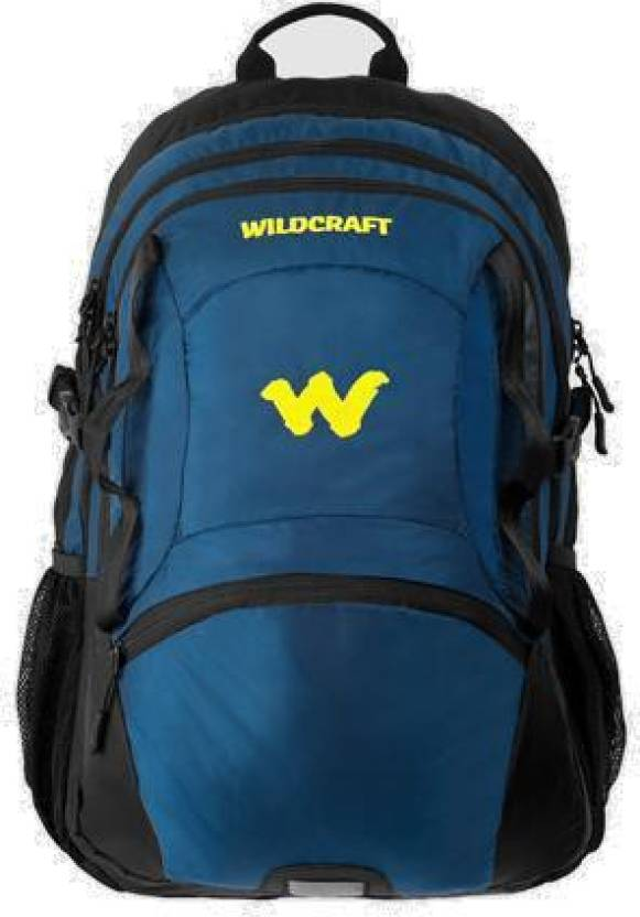 Wildcraft Ida 47 L Medium Laptop Backpack Black Blue Price In