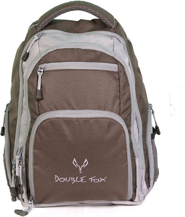 807dc0898c55 Double Fox Arctic Fox 29 L Laptop Backpack Coffee Brown and Gray ...