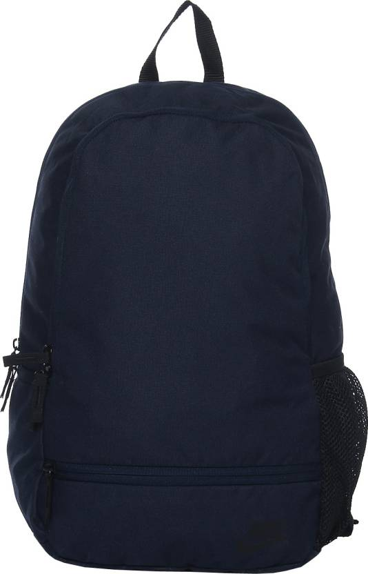 5bac6a2126 Nike Classic North 22 L Backpack Navy Blue - Price in India ...
