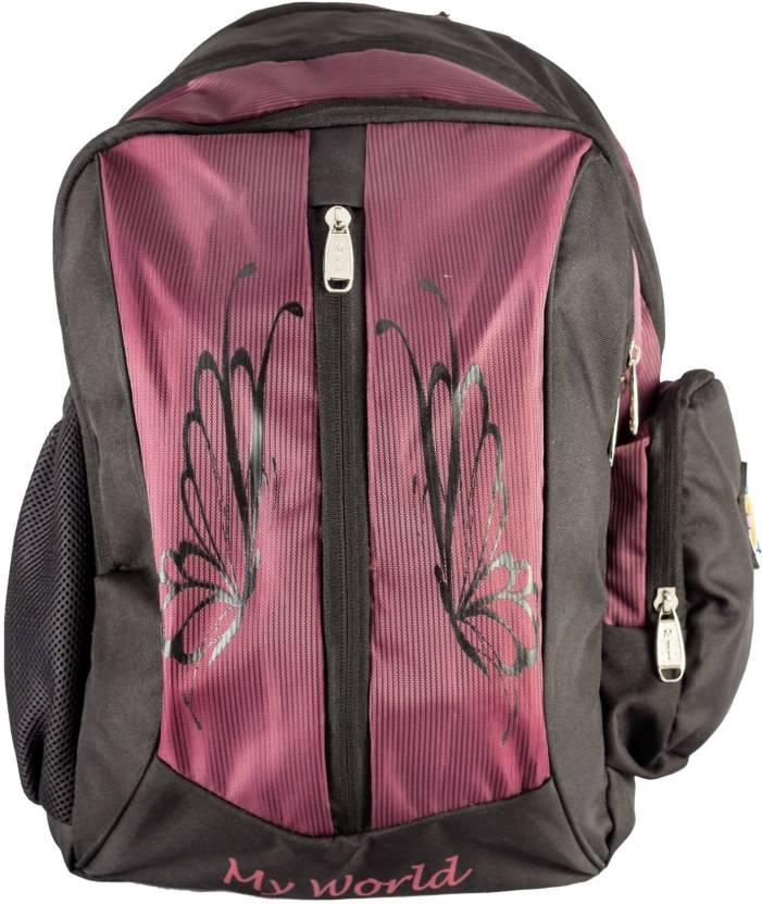 0dbd26ade5d6 MII Bags Happy Days 18 Inch 25 L Backpack (Orange