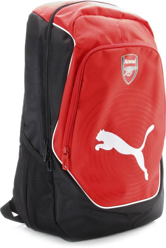 f4ac38f86fd7 Puma Arsenal Football Backpack Red