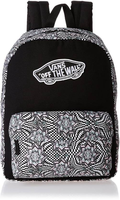 e9d464f087 Vans Realm 22 L Backpack (Checker Kaleidoscope) True White - Price ...