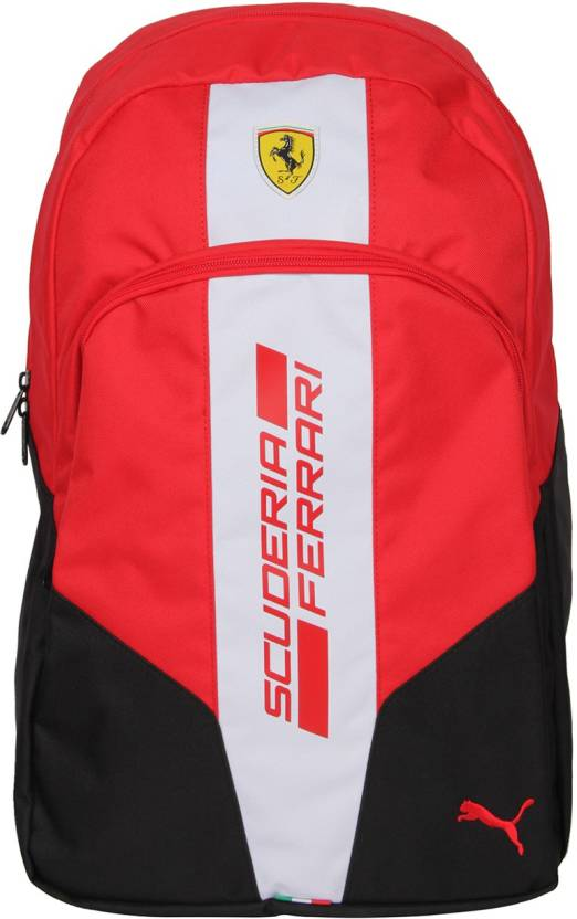 Puma Ferrari Fanwear 2.5 L Backpack Black-Red - Price in India ... fb0bc4ad39