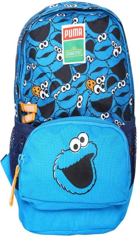 Puma Puma Sesame Street Small 9 L Laptop Backpack (blue Jewel-cookie  monster) 9 L Laptop Backpack (Blue) b4c595033c