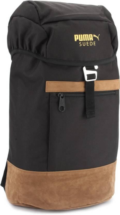5aacc7c9ea3 Puma Suede Backpack Backpack Black - Price in India | Flipkart.com