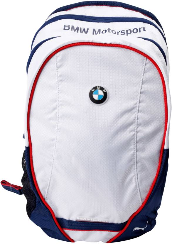 ce66dcd0ac8 Puma BMW Motorsport 23 L Free Size Backpack White and Medieval Blue - Price  in India | Flipkart.com