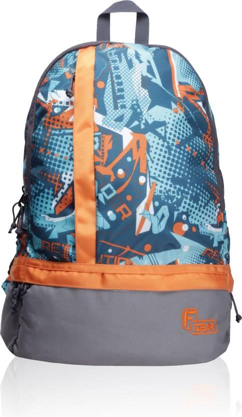 aedfcd86695b F Gear Burner P3 25 L Standard Backpack Orange - Price in India ...