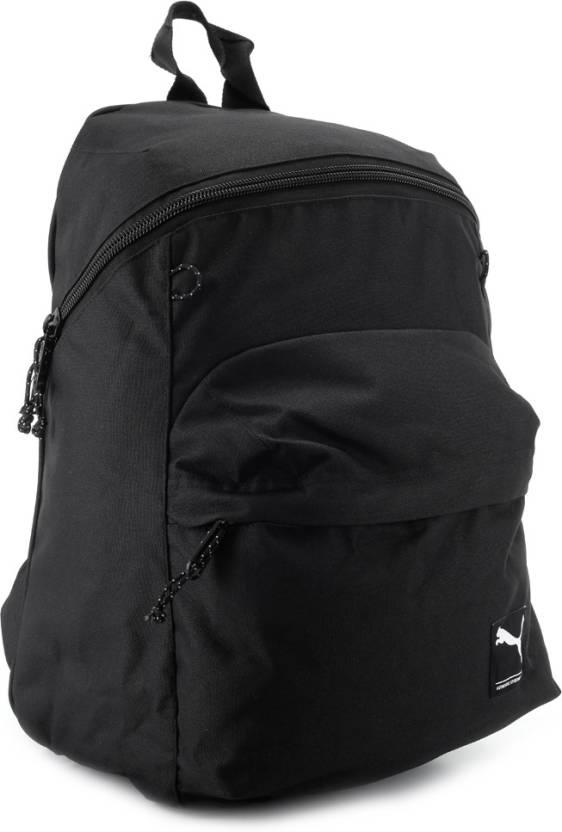 Puma Foundation Backpack Black - Price in India  7b3a3d8af3219