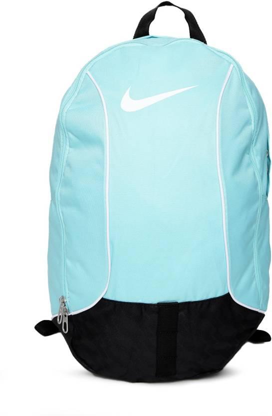2e1f8301e5 Nike Brasilia 6 Med 29 L Backpack LIGHT AQUA BLACK (WHITE) - Price ...