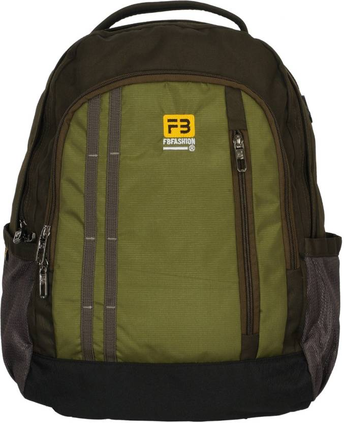 ee38bb7421e8 FB Fashion SB-104 24 L Backpack Dark Green - Price in India ...