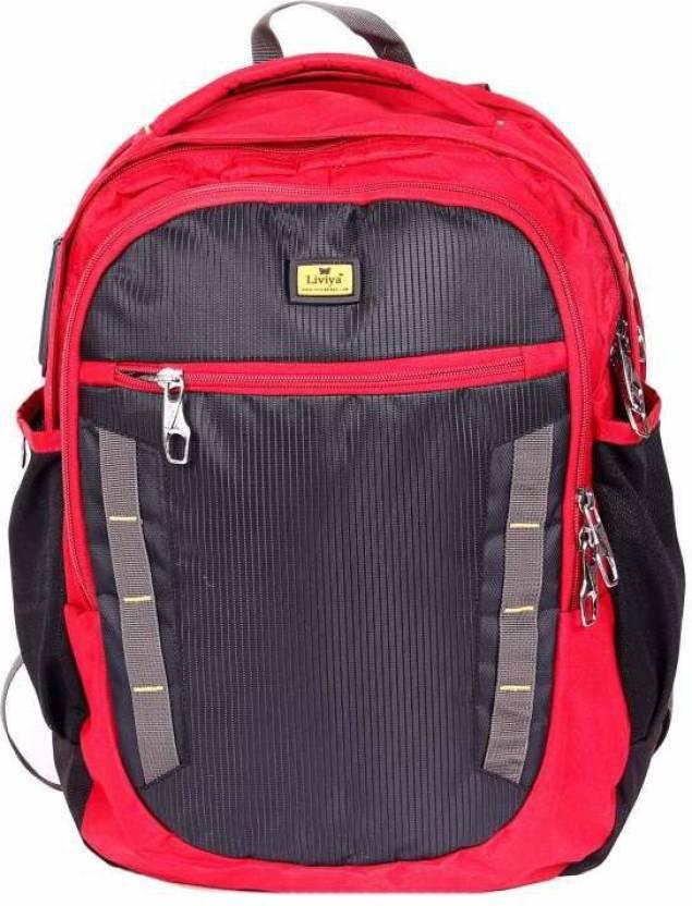 fdfcaa1da455 Liviya SB1014LV 30 L Medium Backpack (Black