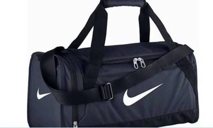 Nike BRASILIA 6 LARGE DUFFEL Laptop Backpack Navy Black White ... 4e5cc73810e89