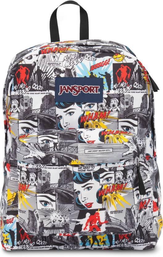 JanSport Superbreak 25 L Backpack (Multicolor)