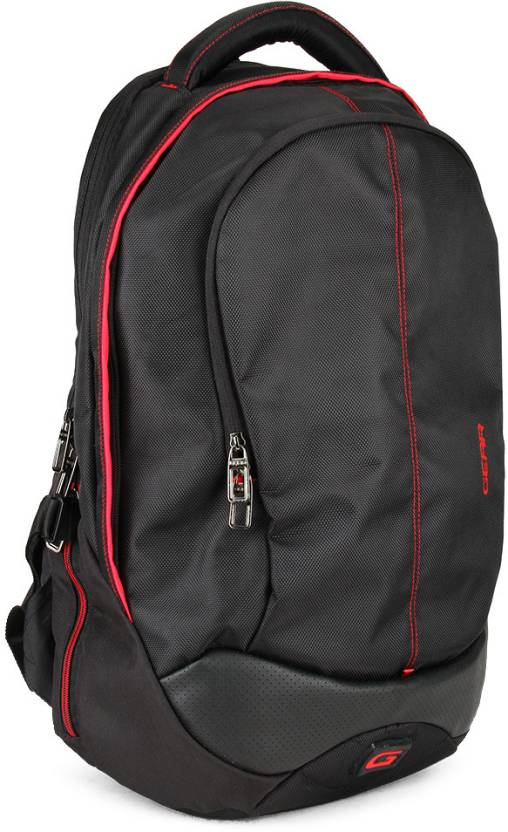 de950da1d9 Gear Outlander 3 Laptop Backpack Black and Red - Price in India ...
