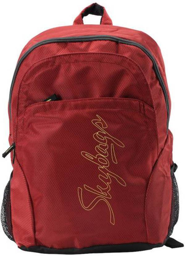 356fe7b076 Skybags Pulse 02 29 L Medium Backpack Red - Price in India ...