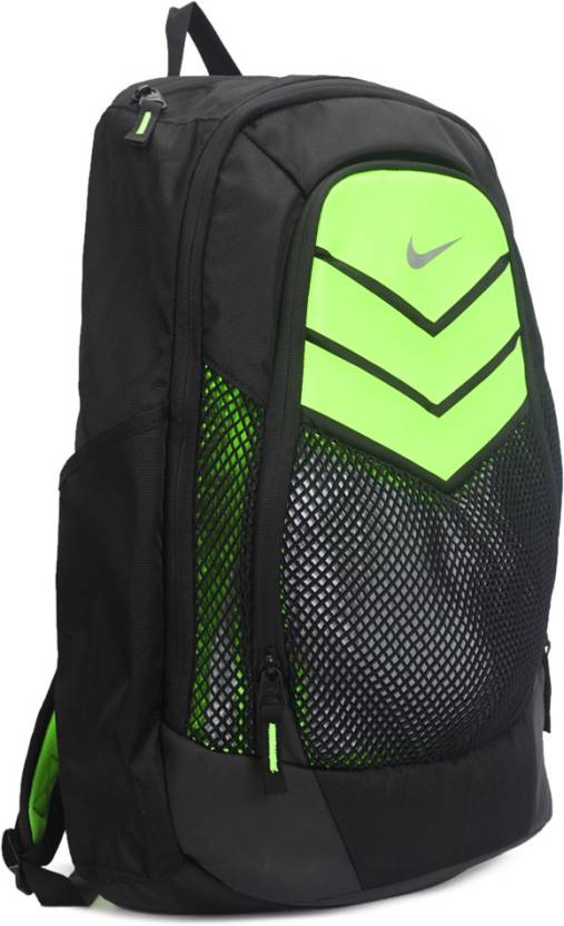 Nike VAPOR POWER BACKPACK Backpack BLACK (M SILV) - Price in India ... 4c609f9c0efb3