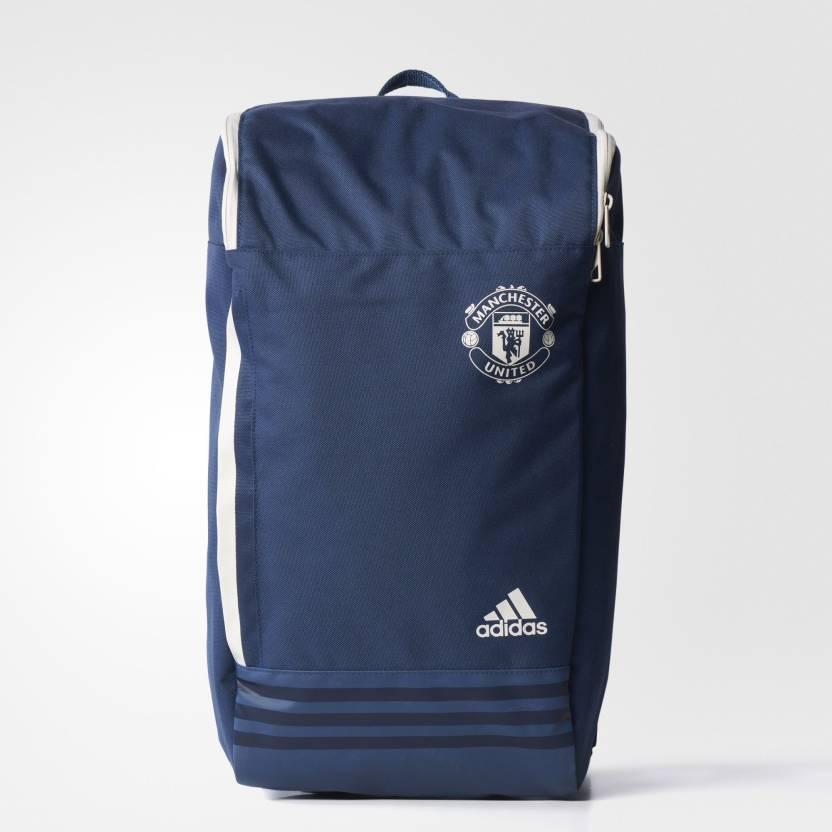 ADIDAS MUFC Blue 25 L Laptop Backpack (Blue d09b18d15c2d4