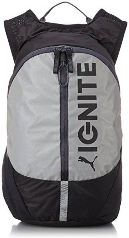 5bfd509c0a Puma PR Lightweight Backpack black-reflective silver-Ignite - Price ...
