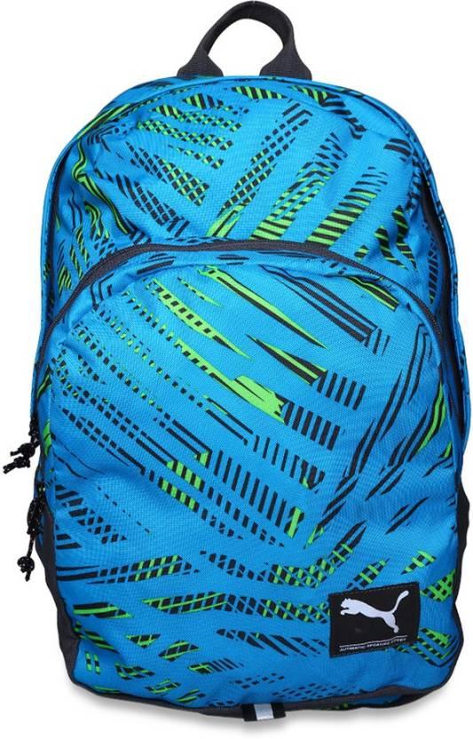 87f7a107a421e1 Puma Puma PUMA Academy 26 L Laptop Backpack (atomic blue-fractured) 26 L  Laptop Backpack (Blue)