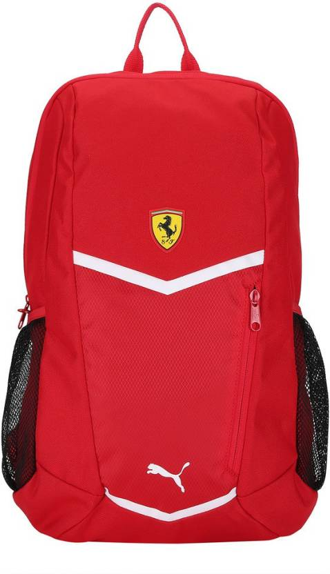 Puma Ferrari Fanwear Backpack 18 L Laptop Backpack Rosso Corsa-Puma ... 78097052a5