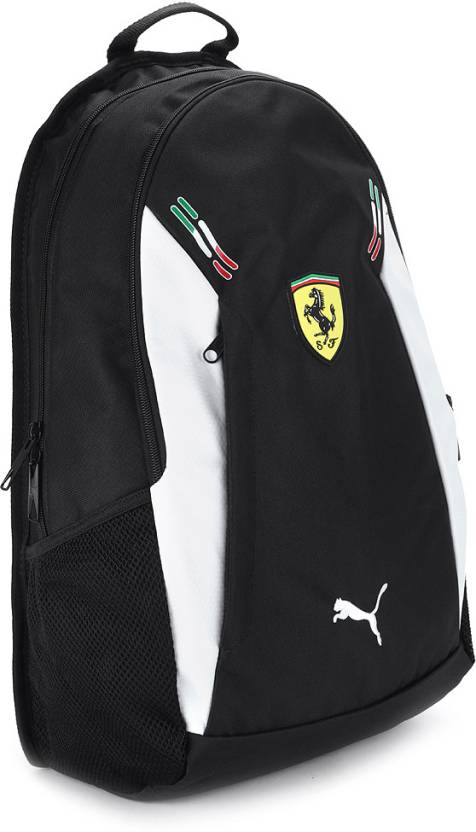 1f457d32df Puma Ferrari Replica Backpack Black and White - Price in India ...