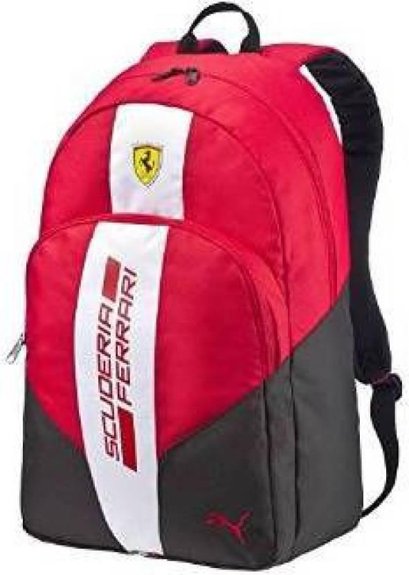 Puma Ferrari Fanwear 21 L Backpack rosso corsa-white-black - Price ... baefd6a407