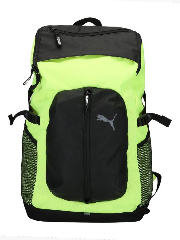 45d2f90325 Puma Apex Backpack 17 L Laptop Backpack Safety Yellow-Puma Black ...