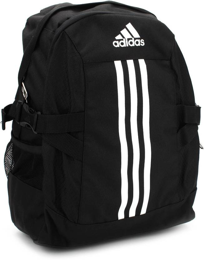 61681750e5 ADIDAS Power II M Backpack Black and White - Price in India ...