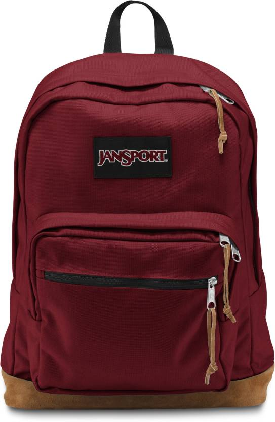a94002224 JanSport Right Pack 31 L Laptop Backpack Viking Red - Price in India ...
