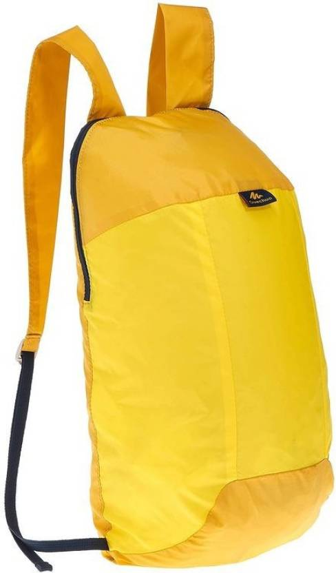 24f8c3dca7a1 Quechua by Decathlon ARPENAZ ULTRA-COMPACT 10 L Backpack Yellow ...
