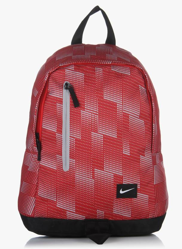 baa4ac2f0b Nike all Access Halfday 19 L Backpack Red - Price in India ...