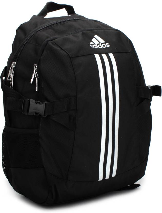 825e0e6d78 ADIDAS Power II Backpack Black and Silver - Price in India ...