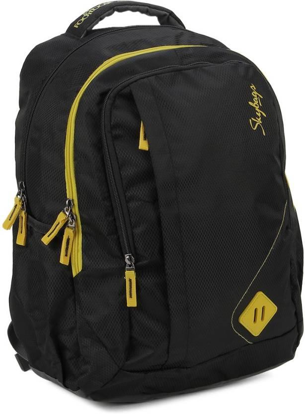 Skybags Backpack Black Price In India Flipkart Com