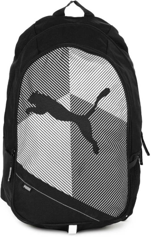 471dedf68006 Puma Echo Plus 27 L Backpack White Black - Price in India